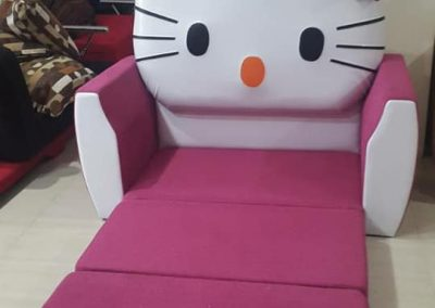 sofa bed hello kity